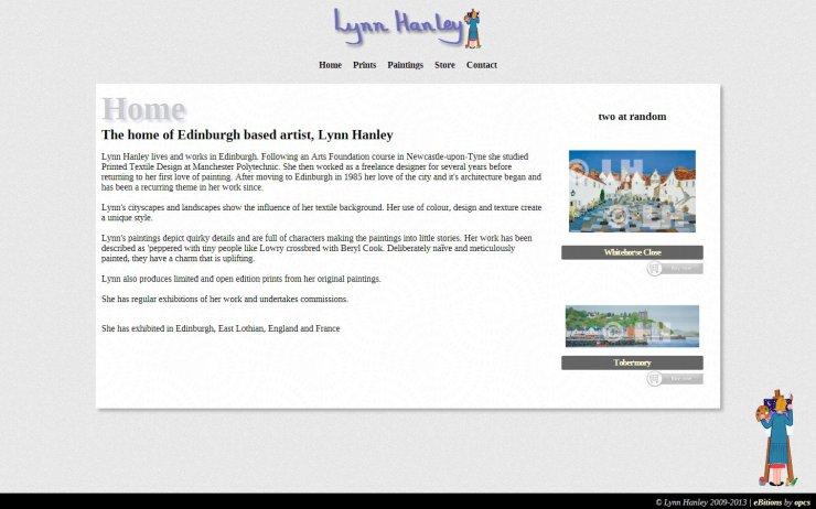 Lynn Hanley - Home Page