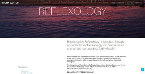 Reproductive Reflexology